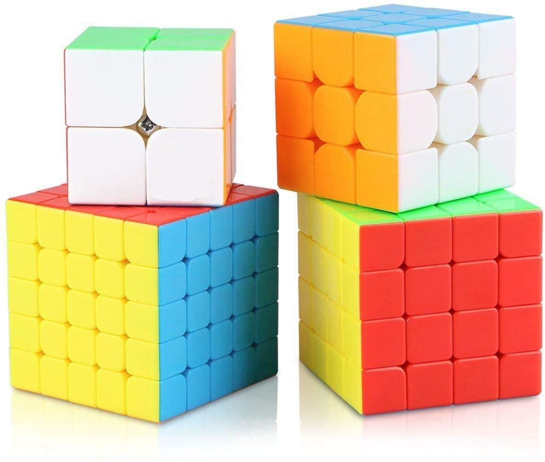 Roxenda Speed Cube Bundle Rubik/'s Cube Set 2x2x2x2x2x2x3x3 4x4x4 5x5x5 T1